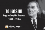 10 Kasım Atatürk'ü Anma